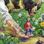 Сказка о молодом великане